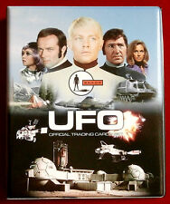 Ufo-official trading card storage binder (blue back) - par imparable cartes