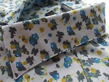 """PAUL SMITH Mens Shirt SIZE 16"""" (chest 42"""") 'the byard' STUNNING FLORAL DESIGN!!"""