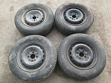 Set 4 cerchi da 13 originali con gomme Alfa Romeo 75 ( No turbo )  [795.16]