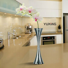 Round Stainless Steel Home Decoration Kitchen Dining Table Decor Flower Vase