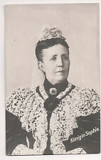 Vintage Postcard Princess Sophia of Nassau Queen of Sweden