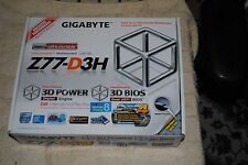 GIGABYTE GA-Z77-D3H LGA 1155 Intel Z77 HDMI SATA 6Gb/s USB 3.0 ATX Intel Motherb