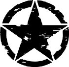 Army star military star vinyl sticker / Decal 400mmx400mm full colors