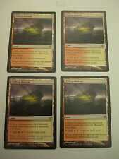 Clifftop Retreat from Innistrad X4 Near Mint Minus NM- MTG Magic