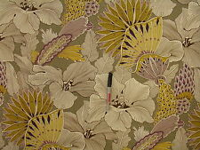 Richloom Angela Floral Heather Cotton Print  Upholstery Drapery Fabric
