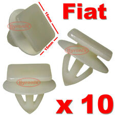 FIAT COUPE PUNTO SIDE SKIRT CLIPS LOWER SILL PLASTIC MOULDING STRIP EXTERIOR