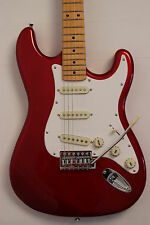E-GUITAR Strat style SX Maple neck +4/4 in red/red /good Teaching guitar NEW