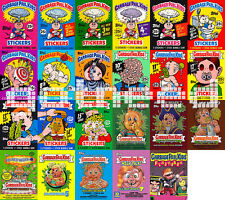 UPDATED Garbage Pail Kids Collection CD, Series 1-16, ANS 1-Flashback 1 + UK 1st