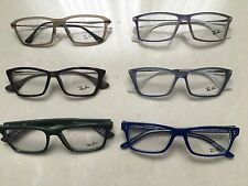 LOT of 6 Original Ray Ban Optical Frames with cases