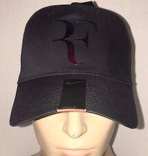 Nike RF Roger Federer Iridescent Hat Cap Black Tennis Dri Fit