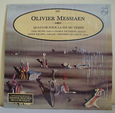 33T Olivier MESSIAEN Disque LP BETHS Violon PIETERSON Clarinette ALPHA N° 100