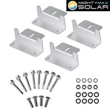 Mighty Max Solar Panel Mounting Z Bracket kit for Caravan