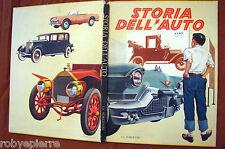 Storia dell'auto 1° edizione 1960 editrice LA SORGENTE milano illustrato grande
