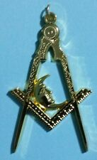 Masonic Junior Deacon Collar Jewel in Gold Tone