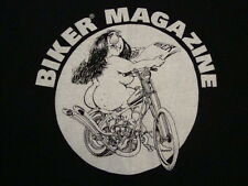 Vintage 90's Milwaukee Iron Motorcycles Biker Magazine Rare trucker T Shirt XL