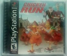 CHICKEN RUN SONY PLAYSTATION 1 2000 VIDEO GAME COMPLETE BLACK LABEL