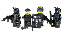 SWAT Team Complete Value police (SKU54) made with real LEGO® minifigures