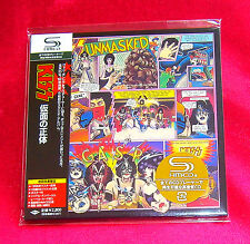 KISS UNMASKED JAPAN AUTHENTIC SHM MINI LP CD NEW OUT OF PRINT RARE UICY-93522