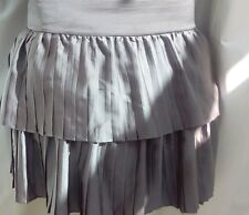 Classic beautiful multi tiered skirt beige REISS 12 14 as n e w