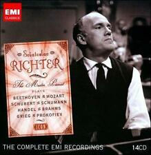 Sviatoslav Richter: The Master Pianist [The Complete EMI Recordings], 14 CD box