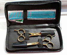 MAICIAN 5.0 INCH PROFESSIONAL JAPANESE 440C STEEL GOLD SCISSOR SET