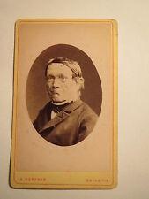 Halle a. S. - alter Mann mit Brille - Portrait / CDV