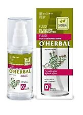 GREEN PHARMACY O'HERBAL FLUID FOR COLOURED HAIR WITH THYME OIL NATURAL