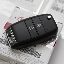 Keyless FOB Entry Remote Control Folding Key (Fit: KIA Picanto 2011 2016)