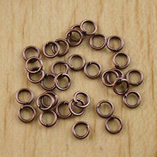 300Pcs antiqued  Copper tone 5mm open Jump Rings H0425