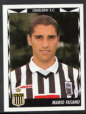 Panini Belgian Football 1999 Sticker - No 107 - Charleroi - Mario Fasano