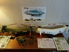 REMCO MONKEY DIVISION or WHITE WHIRLYBIRD HELICOPTER MEN VEHICLES YOUR CHOICE
