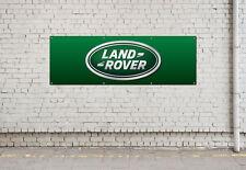 LAND ROVER LOGO workshop, garage, office or showroom pvc banner