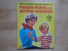 Finger Plays and Action Rhymes, A Wonder Book,1955(VINTAGE; Romber Room)