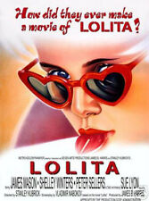LOLITA MOVIE  POSTER - JAMES MASON, SHELLEY WINTERS, PETER SELLERS, SUE LYON