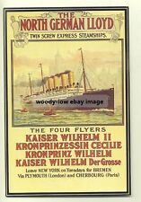 ad2174 - North German Lloyd - modern poster advert postcard