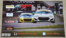 2015 Irish Mike's Racing Hyundai Genesis 2.0 Turbo IMSA CTSC postcard