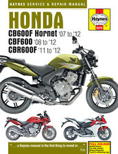 Honda CB600 Hornet, CBF600 & CBR600F 2007-2012 Haynes Manual 5572 NEW