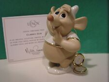 LENOX Disney GUS MOUSE Figurine  NEW in BOX with COA - Cinderella