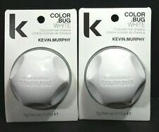 6 White Kevin Murphy Color Bug Coloured Hair Shadow Chalk 5 grams 0.17 Ounces