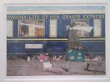 Sam Toft, Orient Express Ooh La La - New Mounted Print - 43 x 35 cm