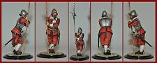 Spanish Conquistador Leaning on Pike Painted by Jean Abell (54MM)