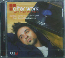 CD AFTER WORK - jazz zum relaxen, Stan Getz, Crusaders, Var. Artists, neu - ovp