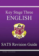 KS3 English SATS: Pt. 1 & 2: Revision Guide by CGP Books (Paperback, 1990)