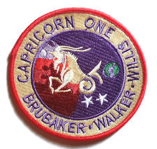"Capricorn One Movie 4"" Embroidered Patch- FREE S&H (MIPA-CAP1)"