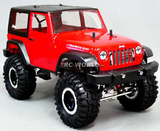 Custom METAL AXIAL JEEP WRANGLER 2.2 Rock Crawler 8.4v -RTR-