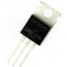 2Pcs 55V 110A IRF3205 TO-220 IRF 3205 Power MOSFET GM