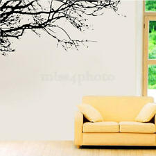 Black Tree Branch Removable Wall Sticker Decal Home Decor PVC Mural Art DIY