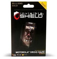 Zagg InvisibleShield for Motorola Droid Razr Screen Protector