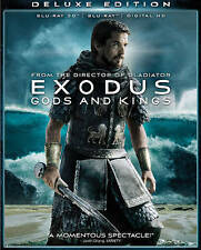 Exodus: Gods and Kings (Blu-ray Disc, 2015, Includes Digital Copy 3D)