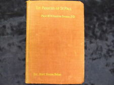 THE PRAYERS OF ST. PAUL BY REV. W. H. GRIFFITH THOMAS  / HB * UK POST £3.25 *